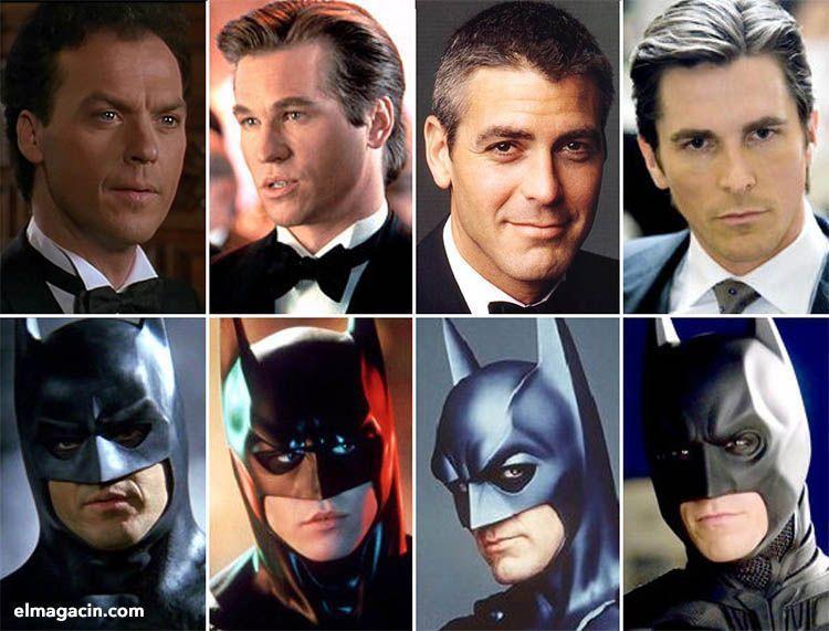 Actores que han interpretado a Batman. El Magacín.