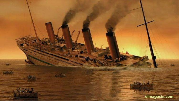 Britannic, el barco gemelo del Titanic. El Magacín.