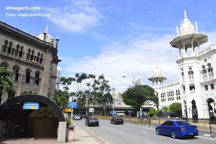Calles de Kuala Lumpur en Malasia. El Magacín.