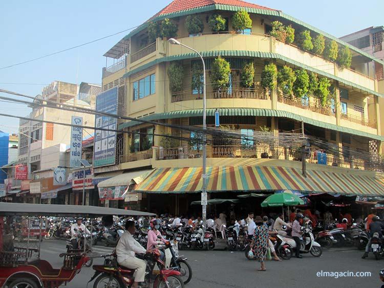 Ciudad de Cambodia. Ciudad deCamboya. El Magacín.