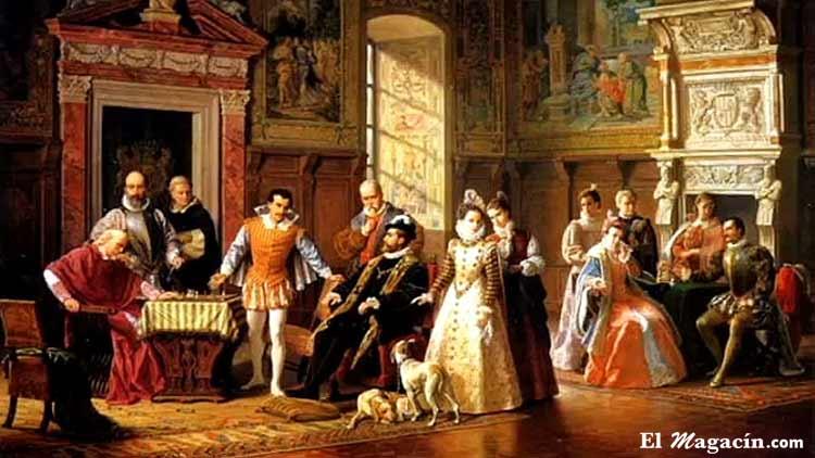 Monarquía o República? Corte_de_Carlos_I_De_Espa%C3%B1a_El_Magac%C3%ADn