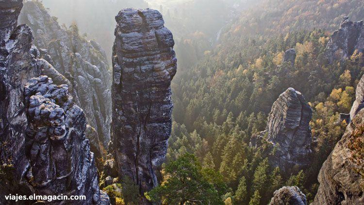 El Magacín. Parque Nacional de las Montañas de Arenisca del Elba