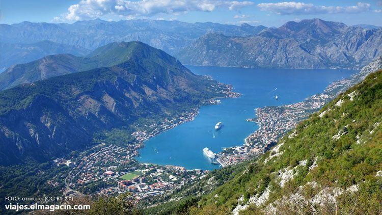El Magacín. Bay of Kotor Montenegro