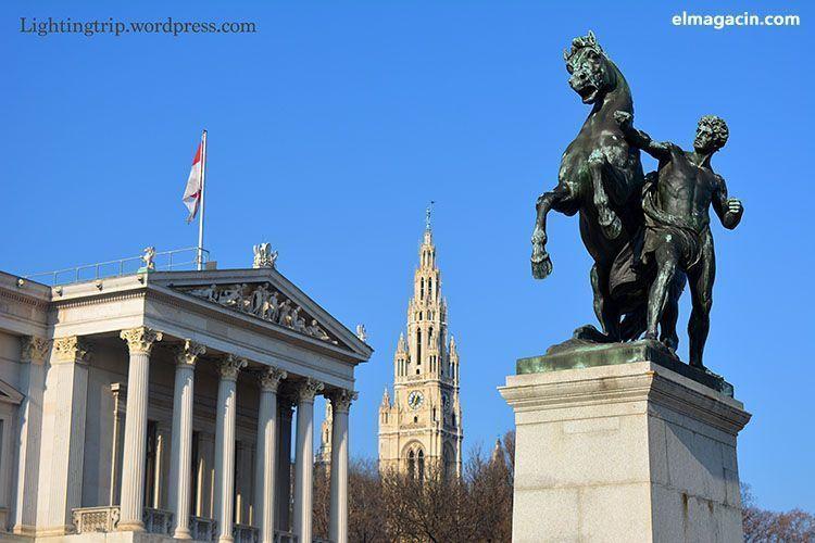 Parlamento y Ayuntamiento de Viena. El Magacín.