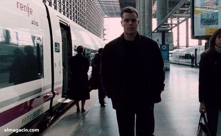 Rodaje de El ultimatum de Bourne en Madrid Atocha. El Magacín.