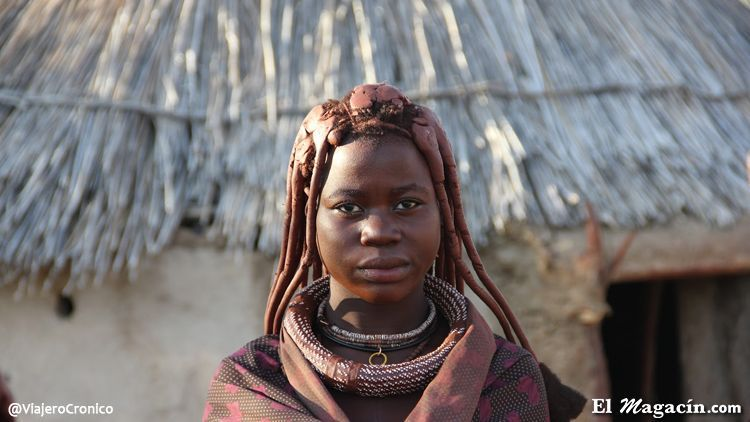 Mujer himba Namibia