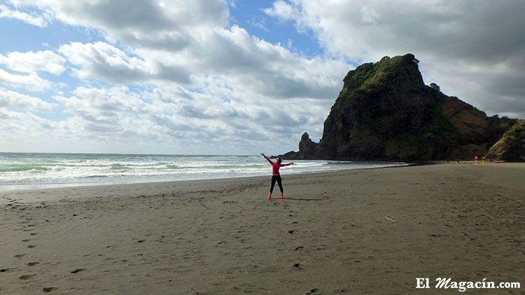 Nueva Zelanda Piha Beach