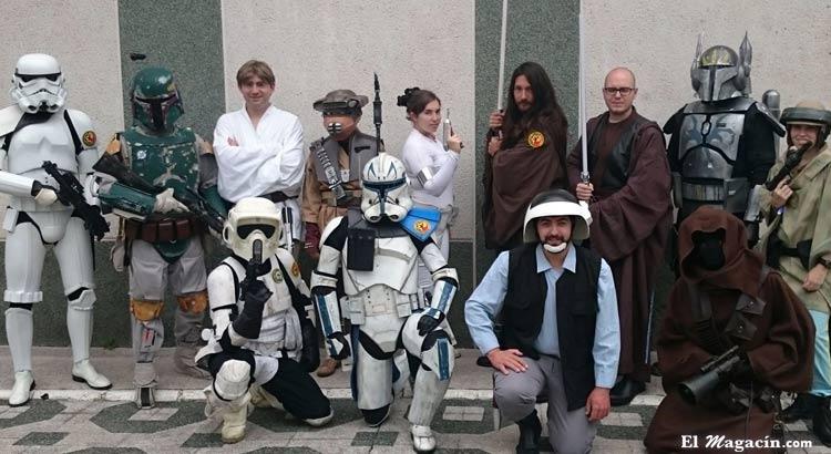 Fans de la asociación Star Wars Cataluña