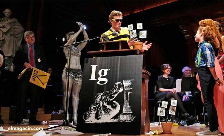 Entrega premios Nobel Ig. El Magacín.