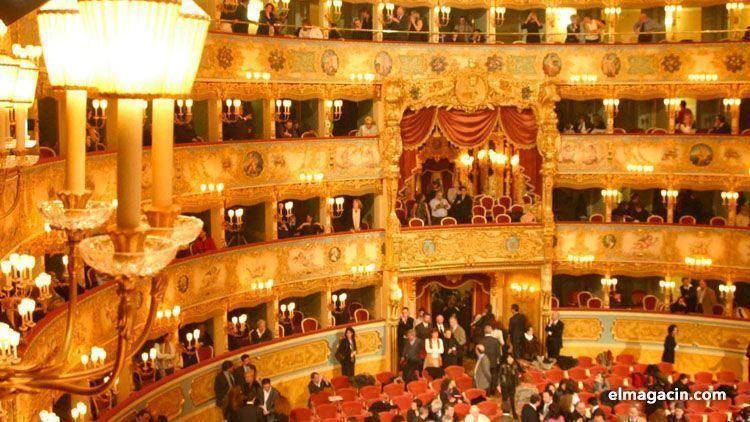 Estreno de la Traviata. El Magacín.