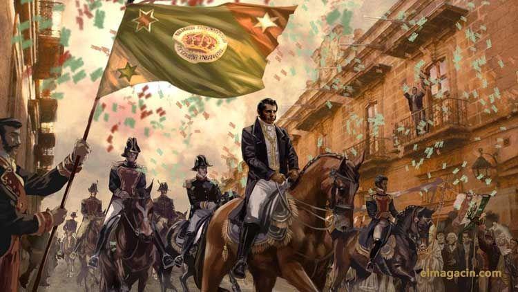 Independencia de México de España. El Magacín.