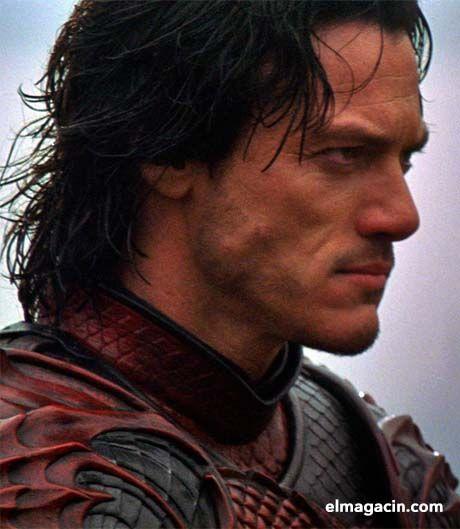 Luke Evans como Drácula. El Magacín.
