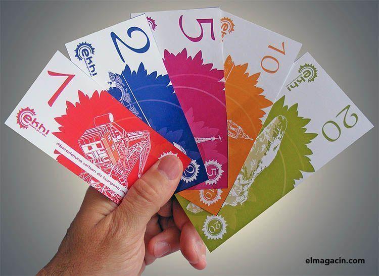 Moneda social Ekhi. El Magacín.