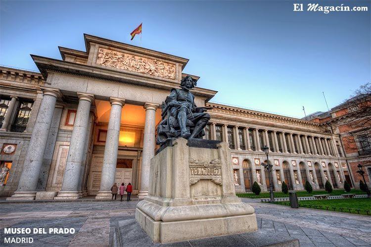 Museo del Prado en Madrid. El Magacín.