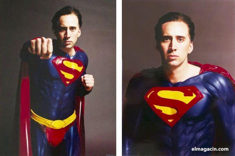 Nicolas Cage como Superman. El Magacín