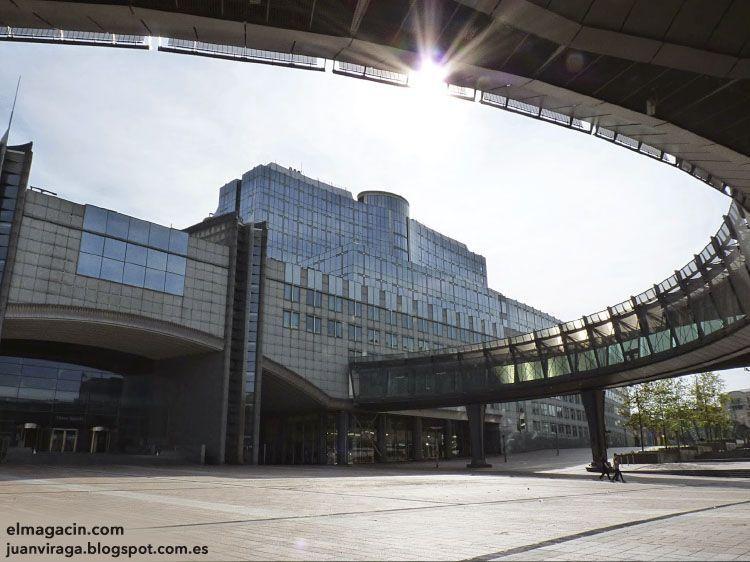 Sede de la Unión Europea en Bruselas. El Magacín.