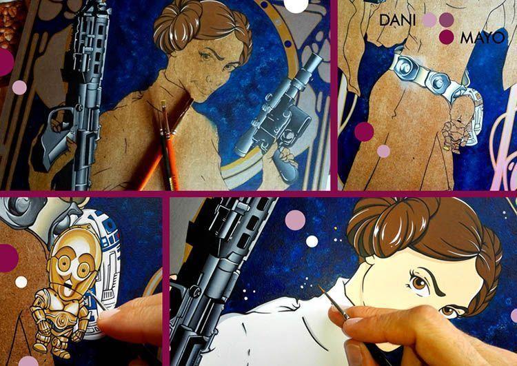 Princesa Leia. Dani Mayo. El Magacín.