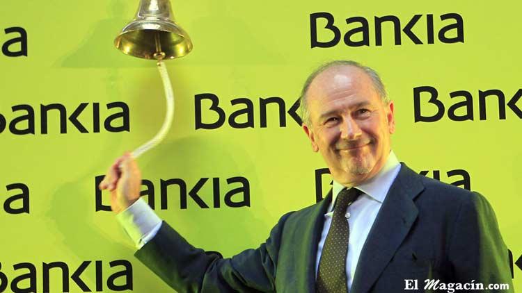 Rodrigo Rato meses antes del rescate del Estado a Bankia