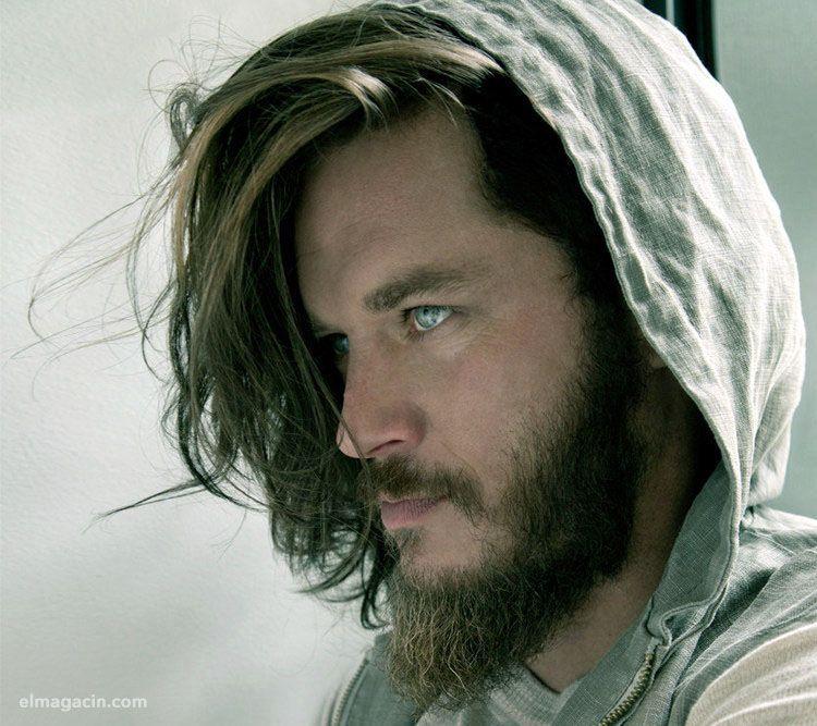 Travis Fimmel. Actor ojos azules. El Magacín.