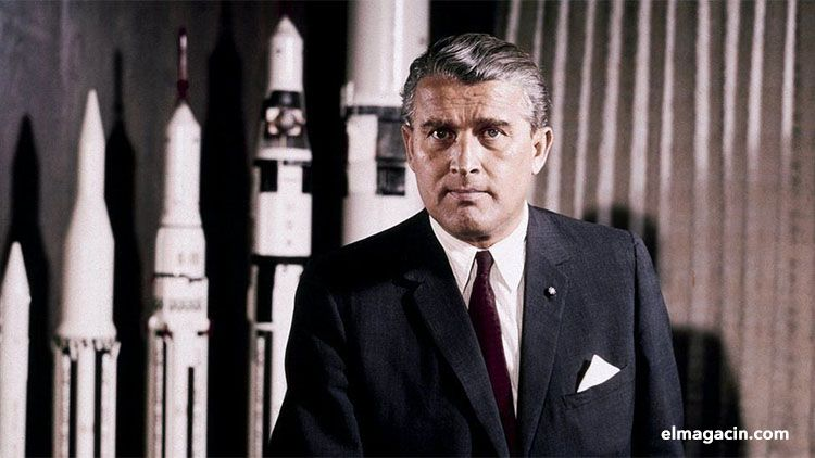 Von Braun pionero espacial de Estados Unidos. El Magacín.