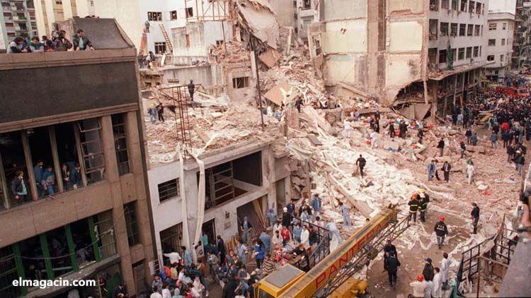 Atentado de la AMIA en Buenos Aires en 1994. El Magacín.