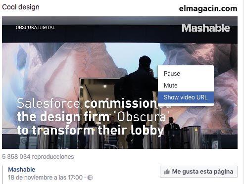 Cómo descargar vídeos en Facebook. El Magacín.