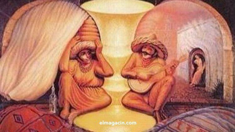 Efecto óptico con ancianos. El Magacín.