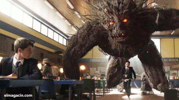 Un monstruo viene a verme. El Magacín.