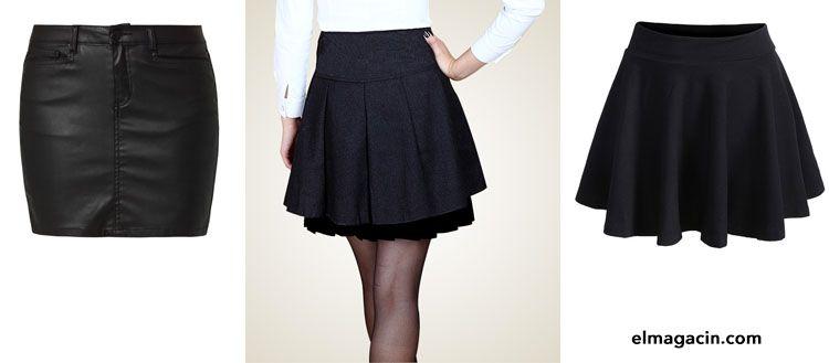 Faldas negras. El Magacín.