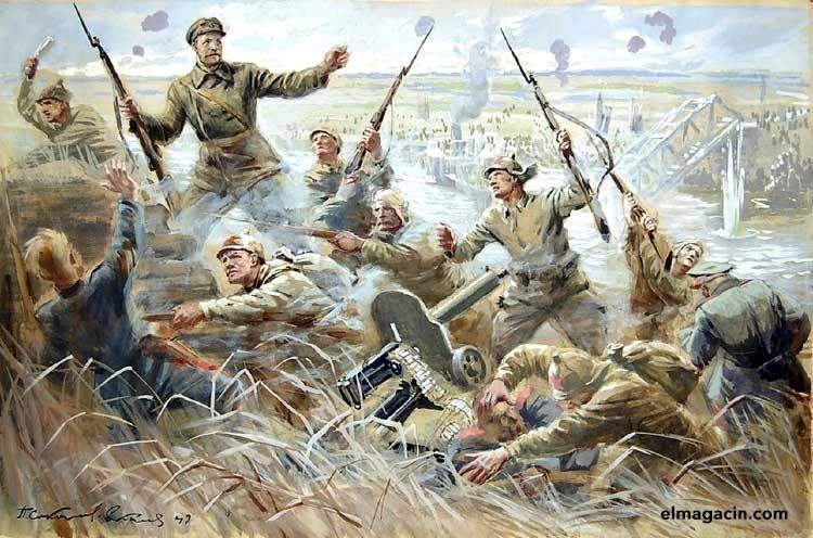 Guerra Civil Rusa. El Magacín.