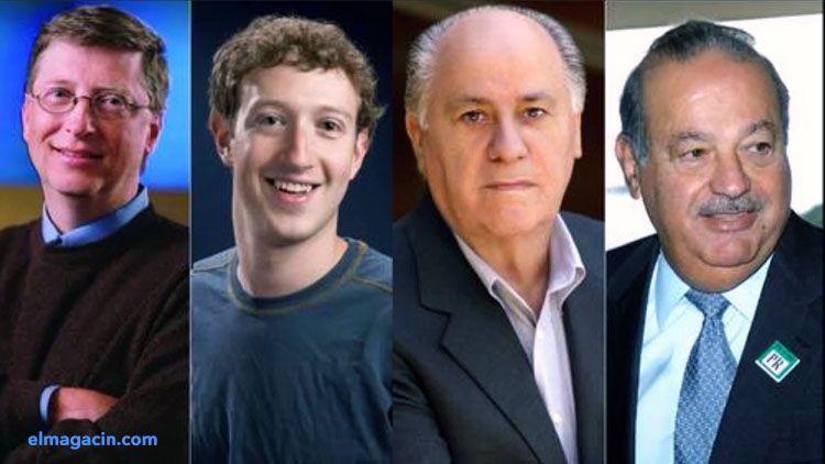 Los 10 hombres más ricos del mundo. El Magacín.