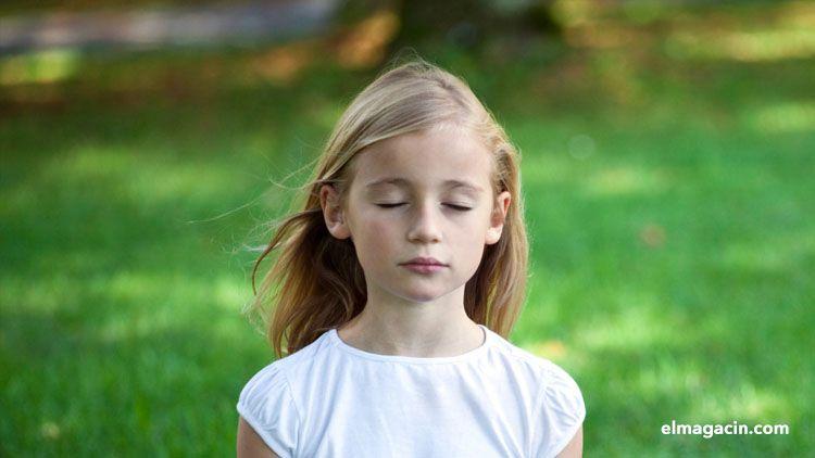 Meditación infantil. El Magacín.