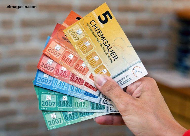 Moneda social Chiemgauer. El Magacín.