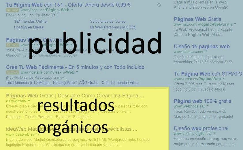Publicidad orgánica.