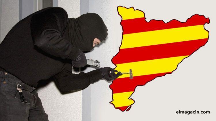 Robos en Cataluña. Tabarnia. El Magacín.
