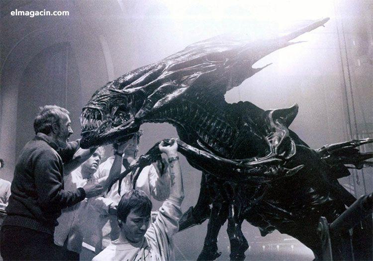 Rodaje de Alien. El Magacín.
