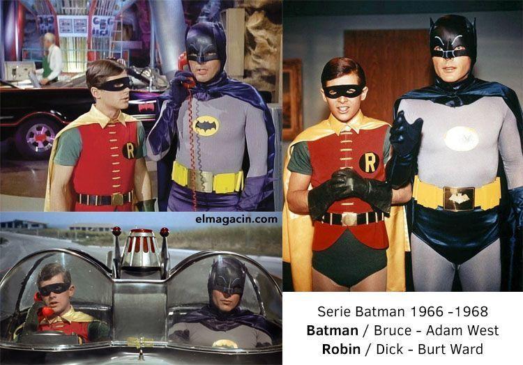 Serie Batman de los años 60. Adam West. El Magacín.