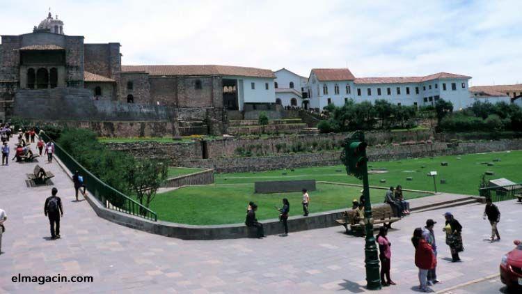 Santo Domingo fue construido sobre muros incas. El Magacín.