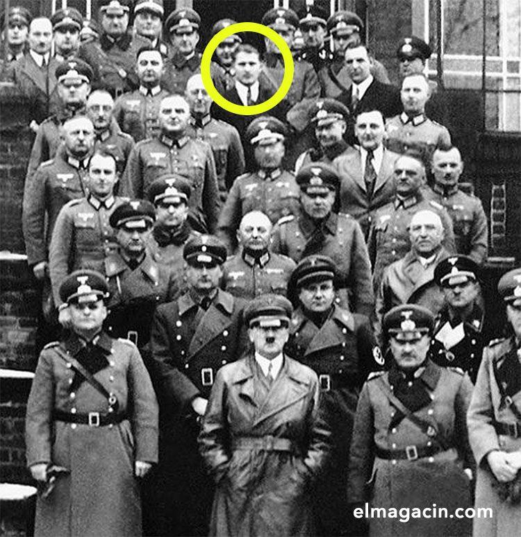 Von Braun y Adolf Hitler. El Magacín.
