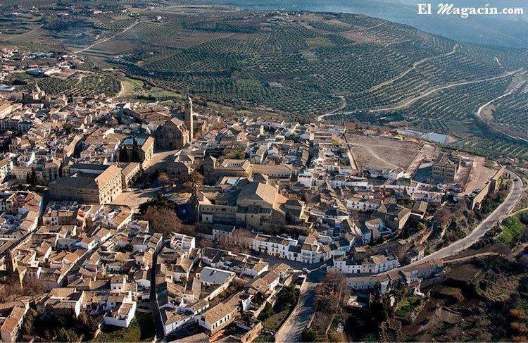 Úbeda (Jaén). Rodeada de viñedos