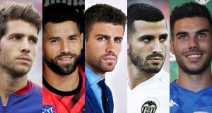 Futbolistas españoles guapos. Los jugadores de fútbol más guapos de la Liga Española