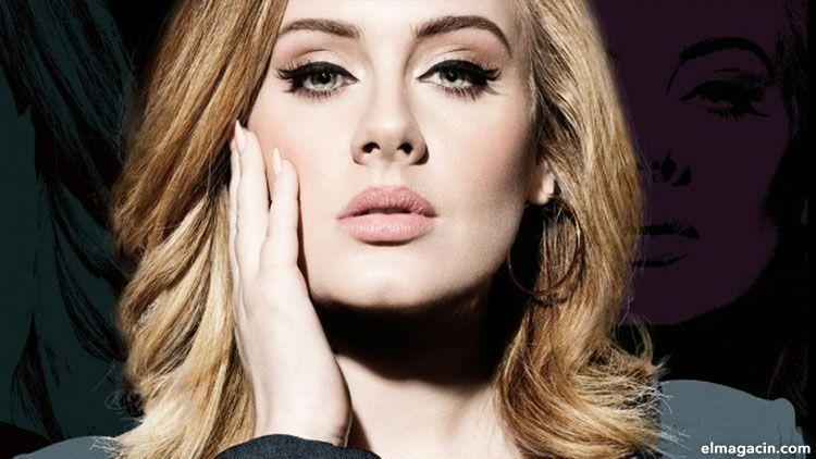 Adele Laurie Blue Adkins. Cantantes famosas más guapas del mundo. Cómo tener las cejas perfectas
