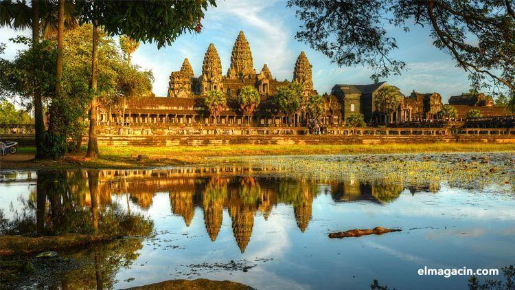 Angkor Wat fue una breve colonia española. El Magacín.