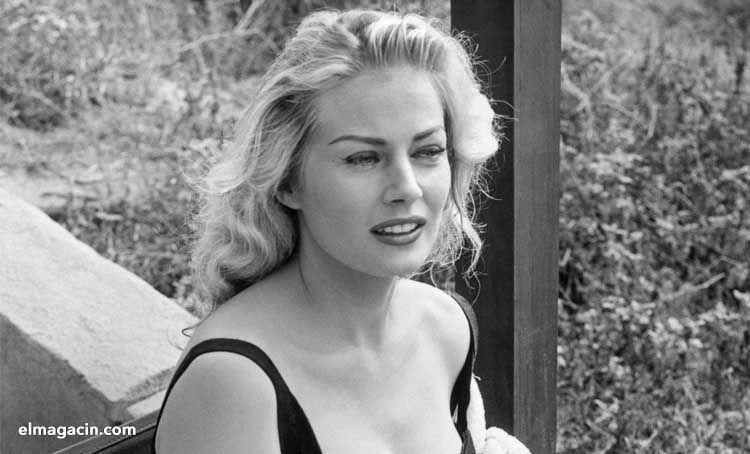 Anita Ekberg. La mujer más bella de Suecia. El Magacín. Mujeres guapas.