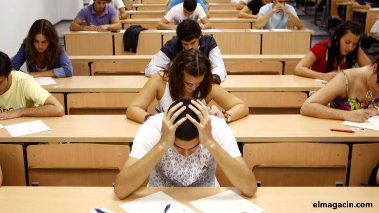 Aprobar o fracasar: el dilema de los exámenes en la educación actual