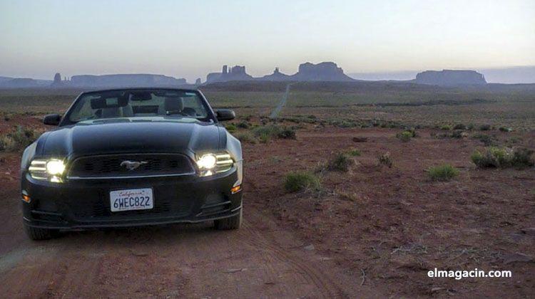 Puesta de sol en Arizona. El Magacín.