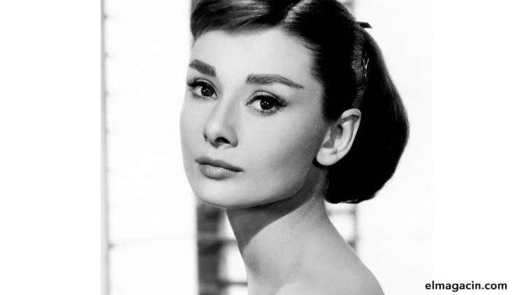 Audrey Hepburn, la mujer más guapa del Reino Unido. El Magacín. Mujeres guapas.