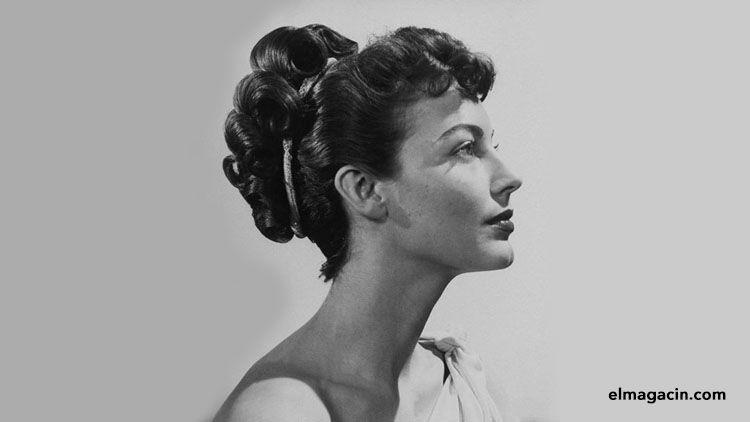 La guapa actriz Ava Gardner. El Magacín.