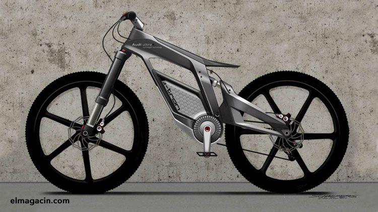 Bicicleta futurista. El Magacín.