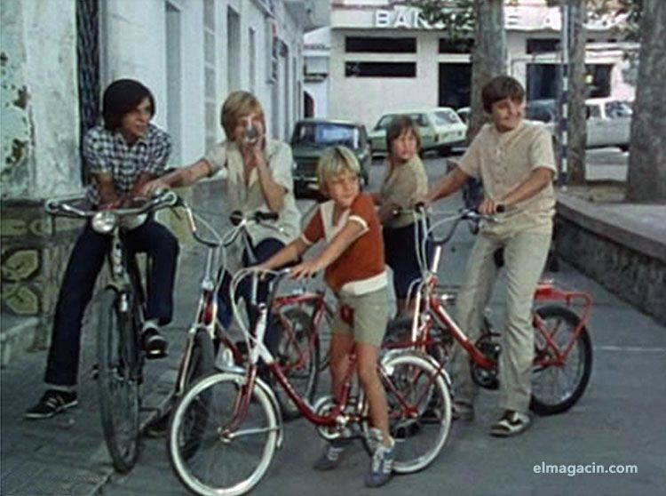 Bicicletas de Verano Azul. El Magacín.